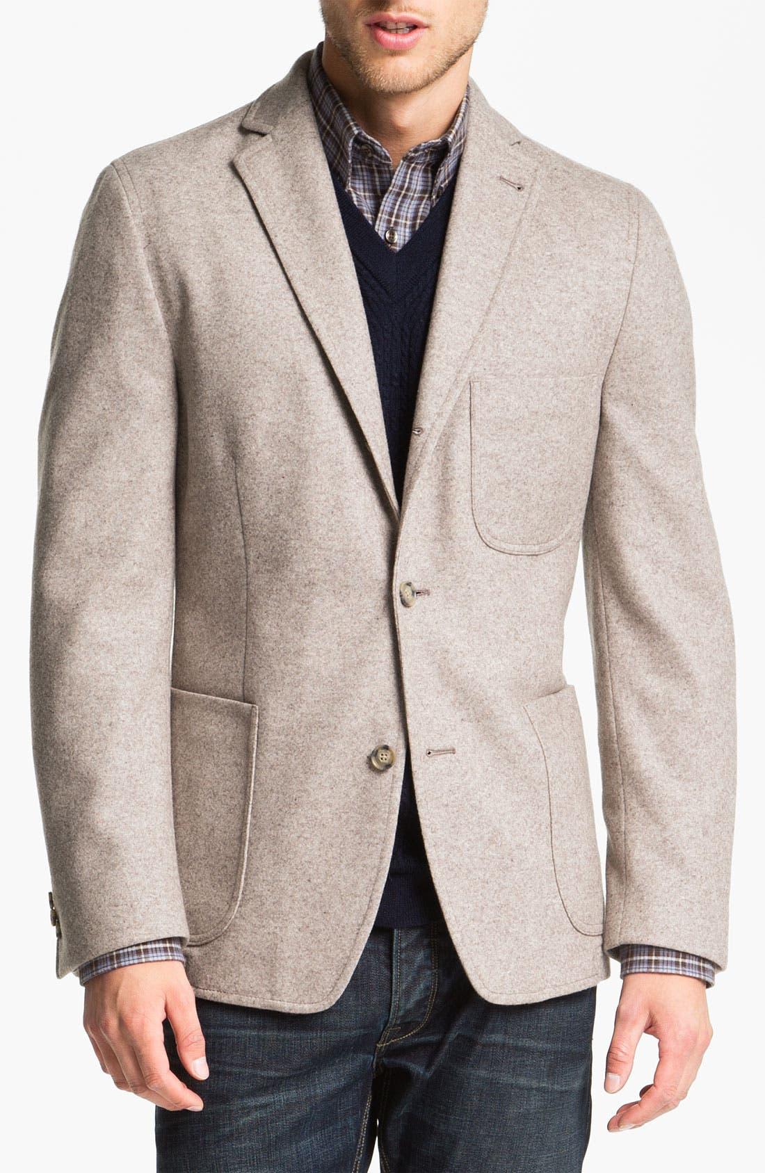 Main Image - Kroon 'Mayer' Wool & Cashmere Blend Knit Sportcoat