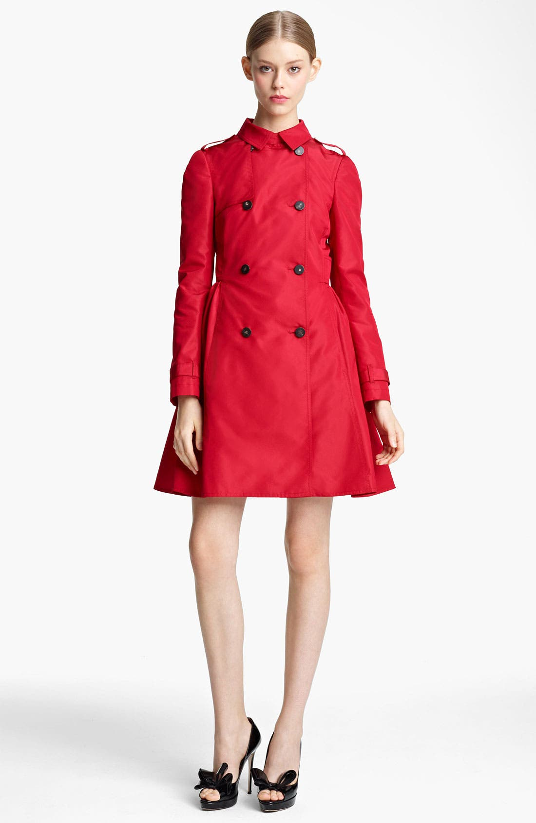 Alternate Image 2  - Valentino Bow Back Trench Coat