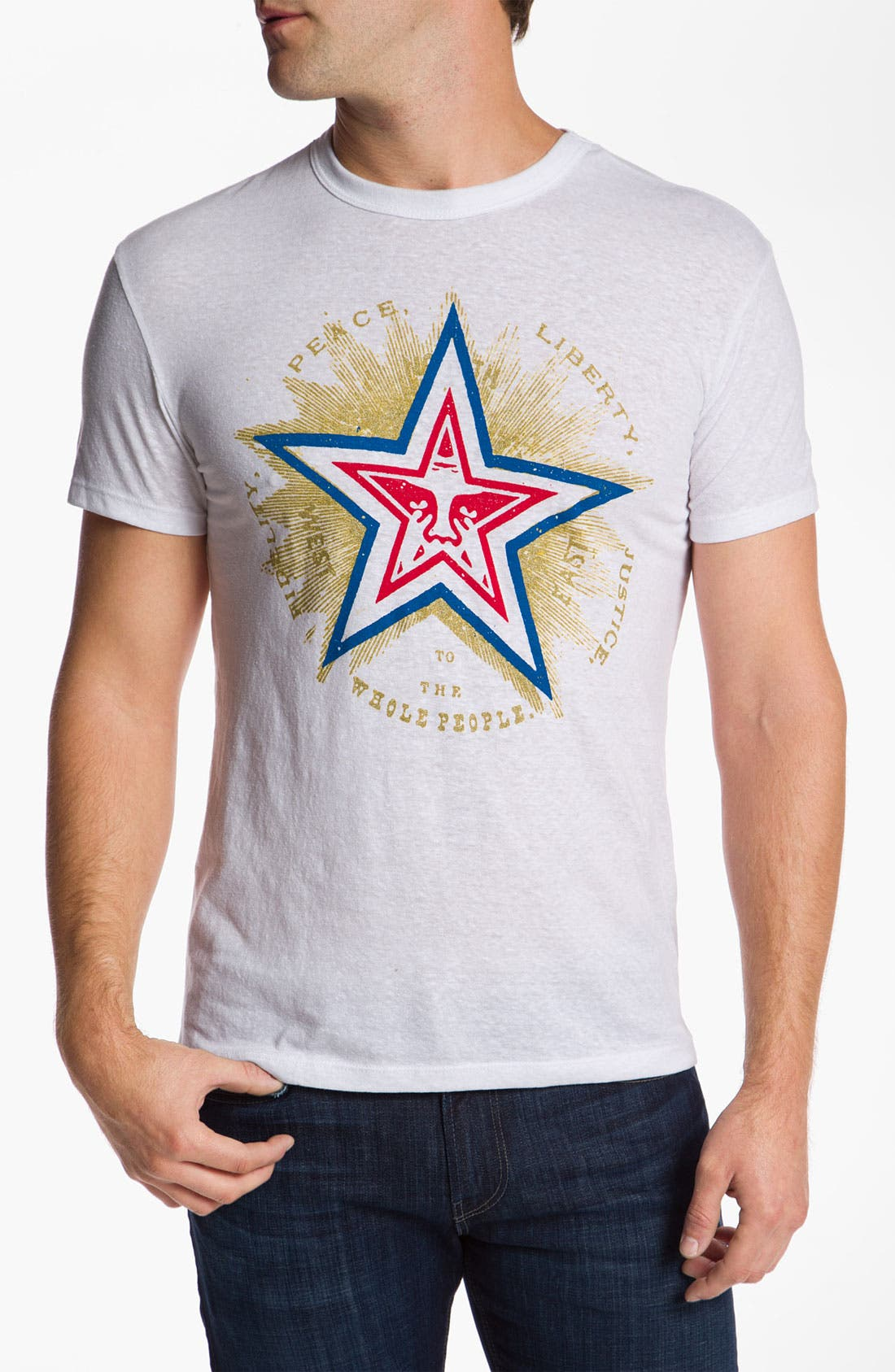 Alternate Image 1 Selected - Obey 'Fidelity Star' T-Shirt