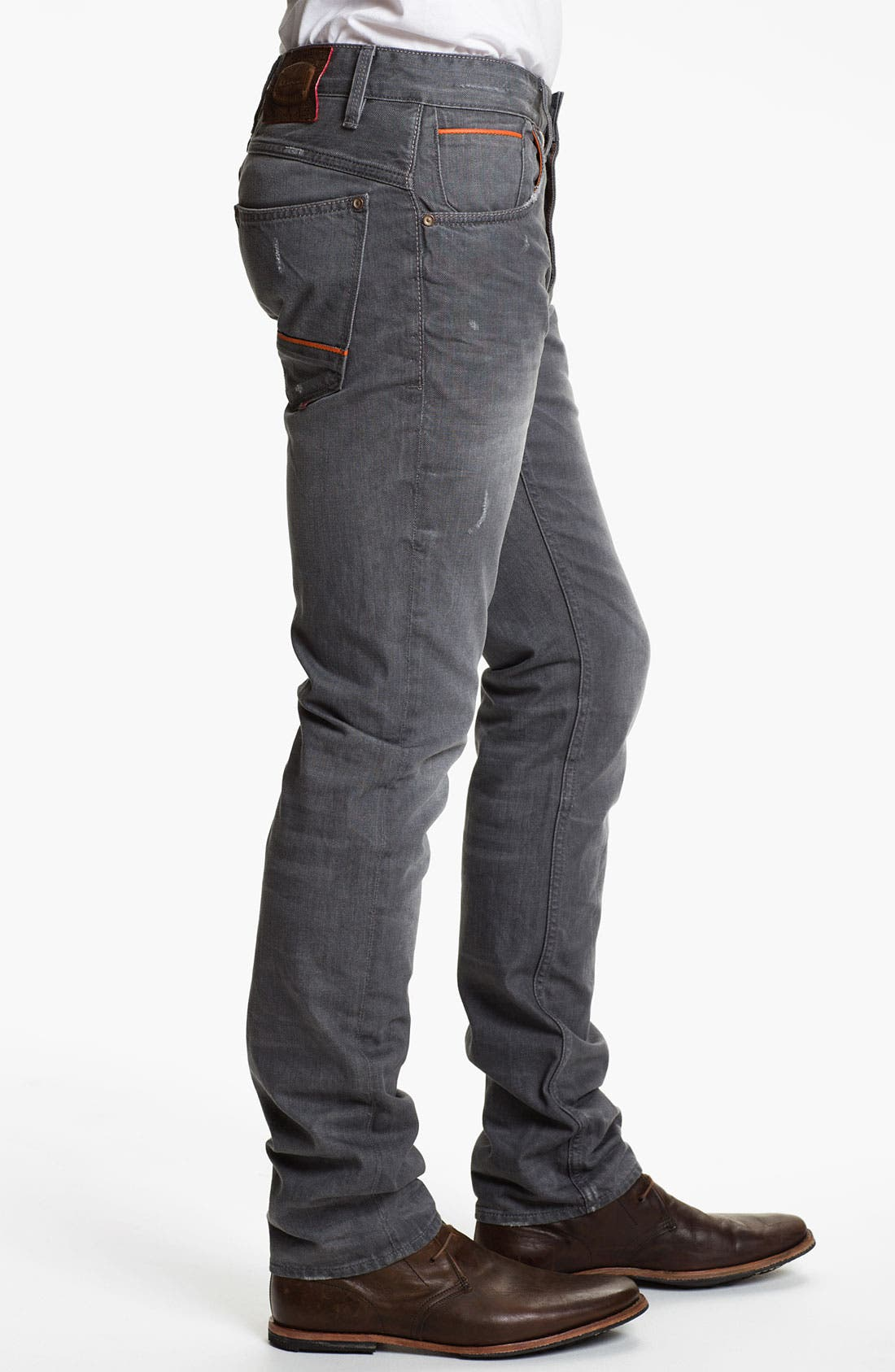 Alternate Image 3  - Robert Graham Jeans 'Grey Day' Slim Straight Leg Jeans (Grey)
