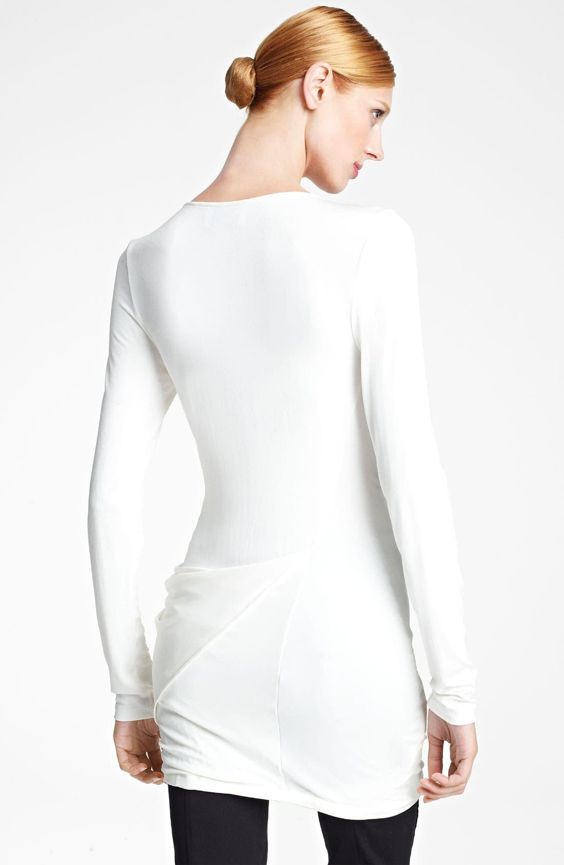 Alternate Image 2  - Donna Karan Collection Draped Jersey Top