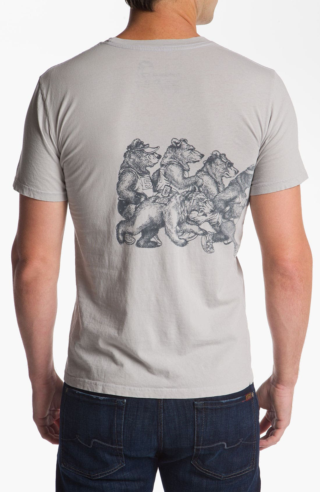 Alternate Image 2  - Toddland 'Bearathon' T-Shirt