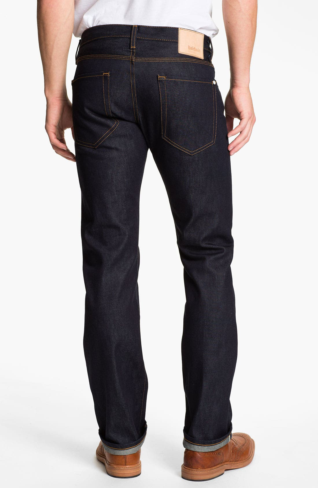 Alternate Image 1 Selected - Baldwin 'Reed' Straight Leg Jeans (Dry)