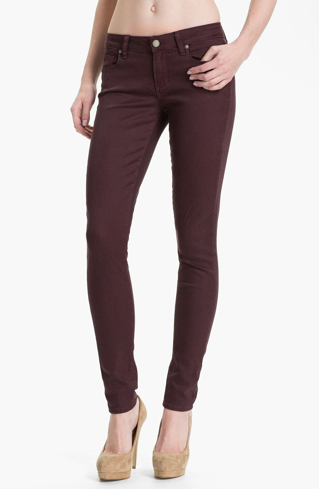 Main Image - Paige Denim 'Verdugo' Skinny Stretch Denim Jeans (Pollock)