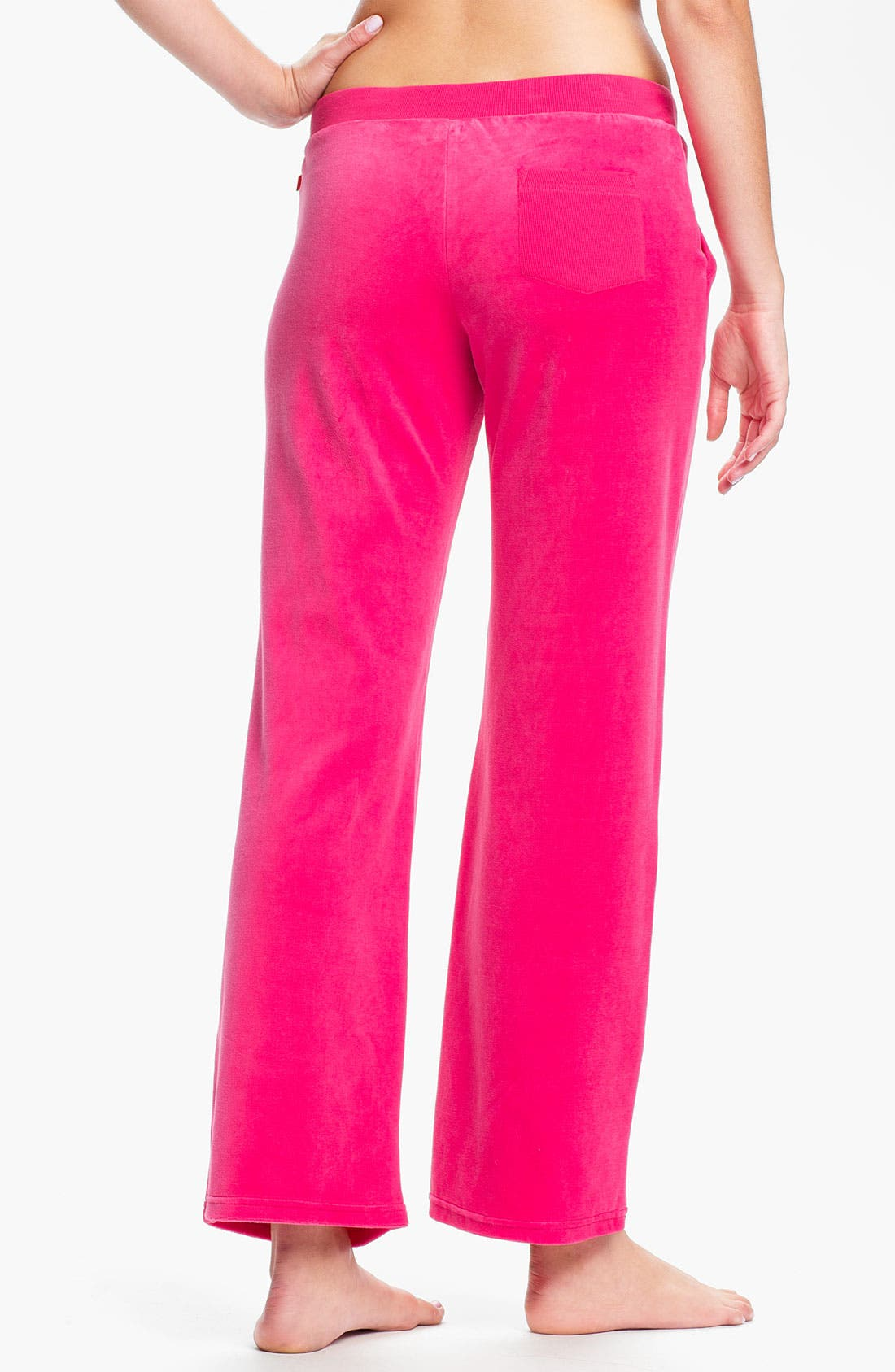 Alternate Image 2  - Josie 'Sacha' Velour Pants
