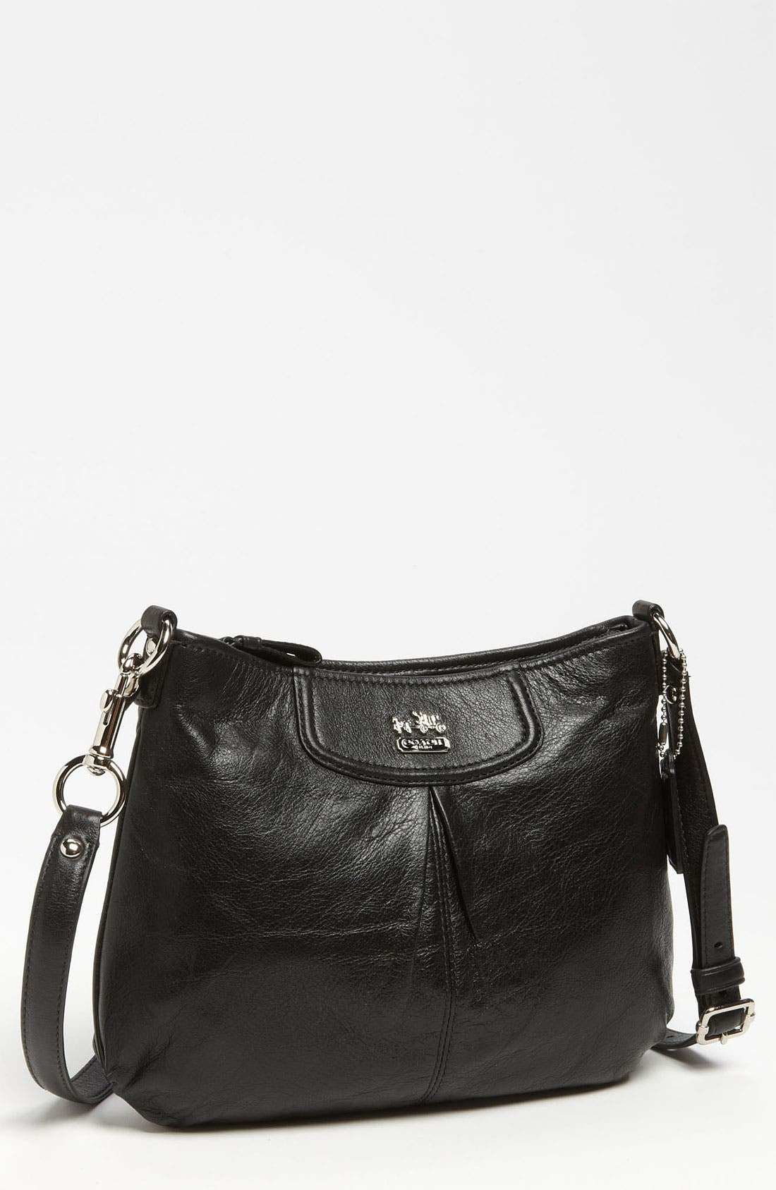 Main Image - COACH 'Madison - Swingpack' Leather Crossbody Bag