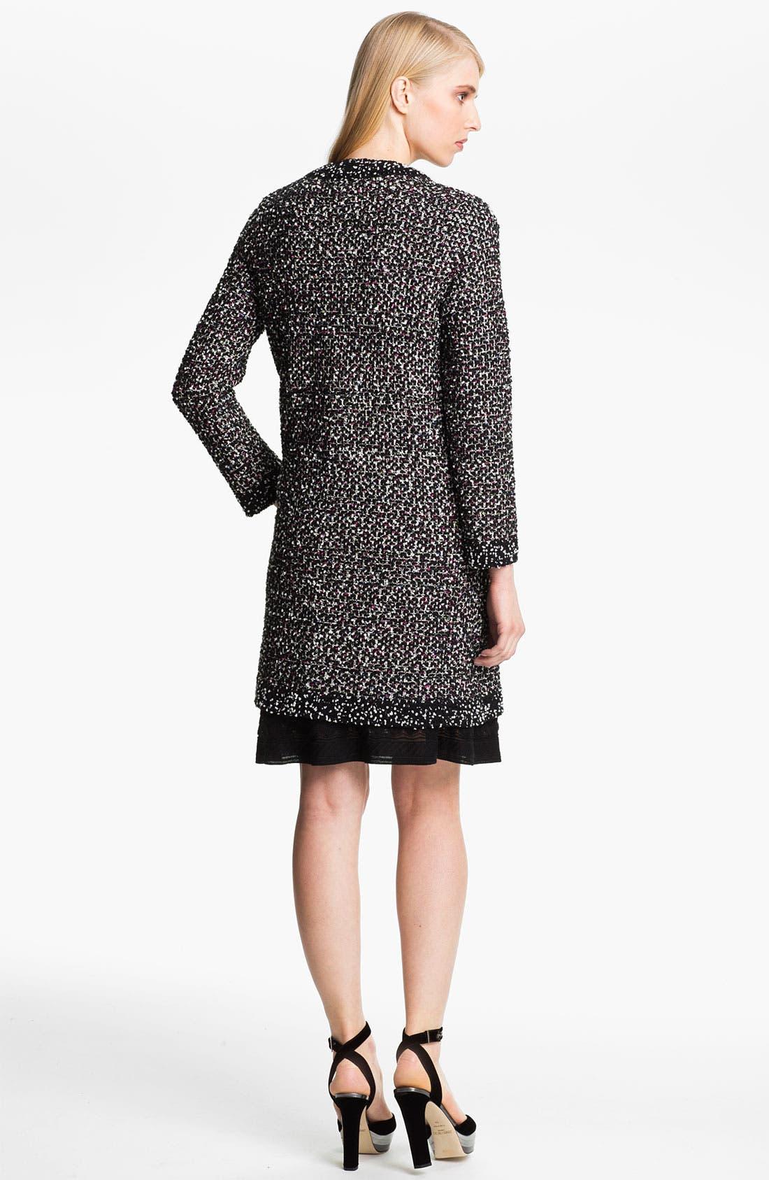 Alternate Image 2  - M Missoni Bouclé Knit Coat