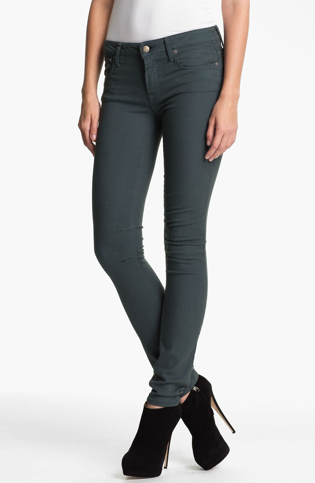 Alternate Image 1 Selected - HELMUT Helmut Lang Overdyed Skinny Jeans