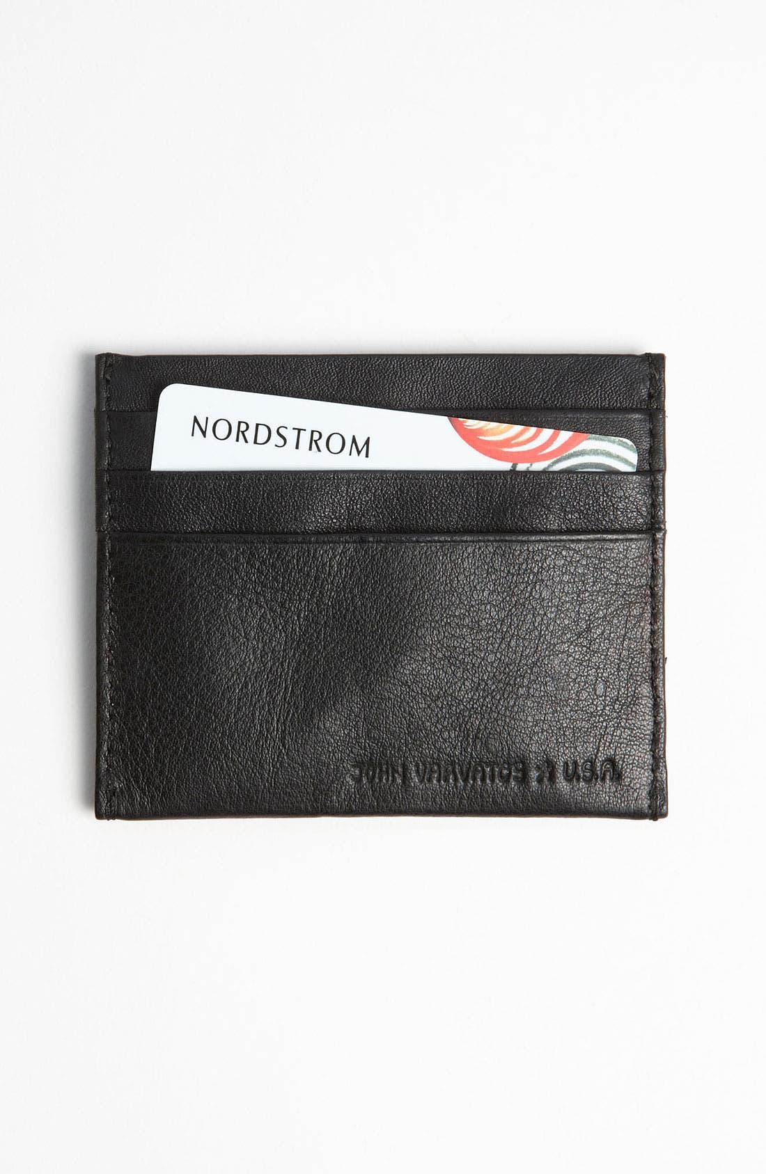 Main Image - John Varvatos Star USA Card Case