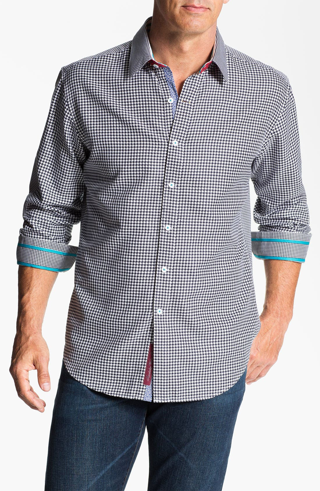 Alternate Image 1 Selected - Robert Graham 'Puckle' Sport Shirt