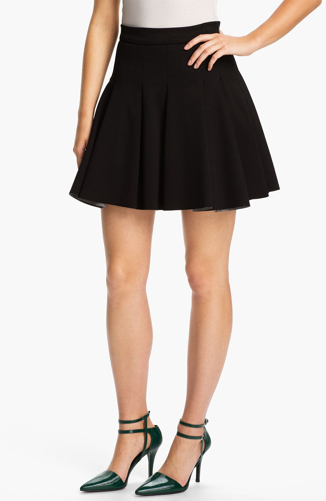 Alternate Image 1 Selected - T by Alexander Wang Neoprene Skirt
