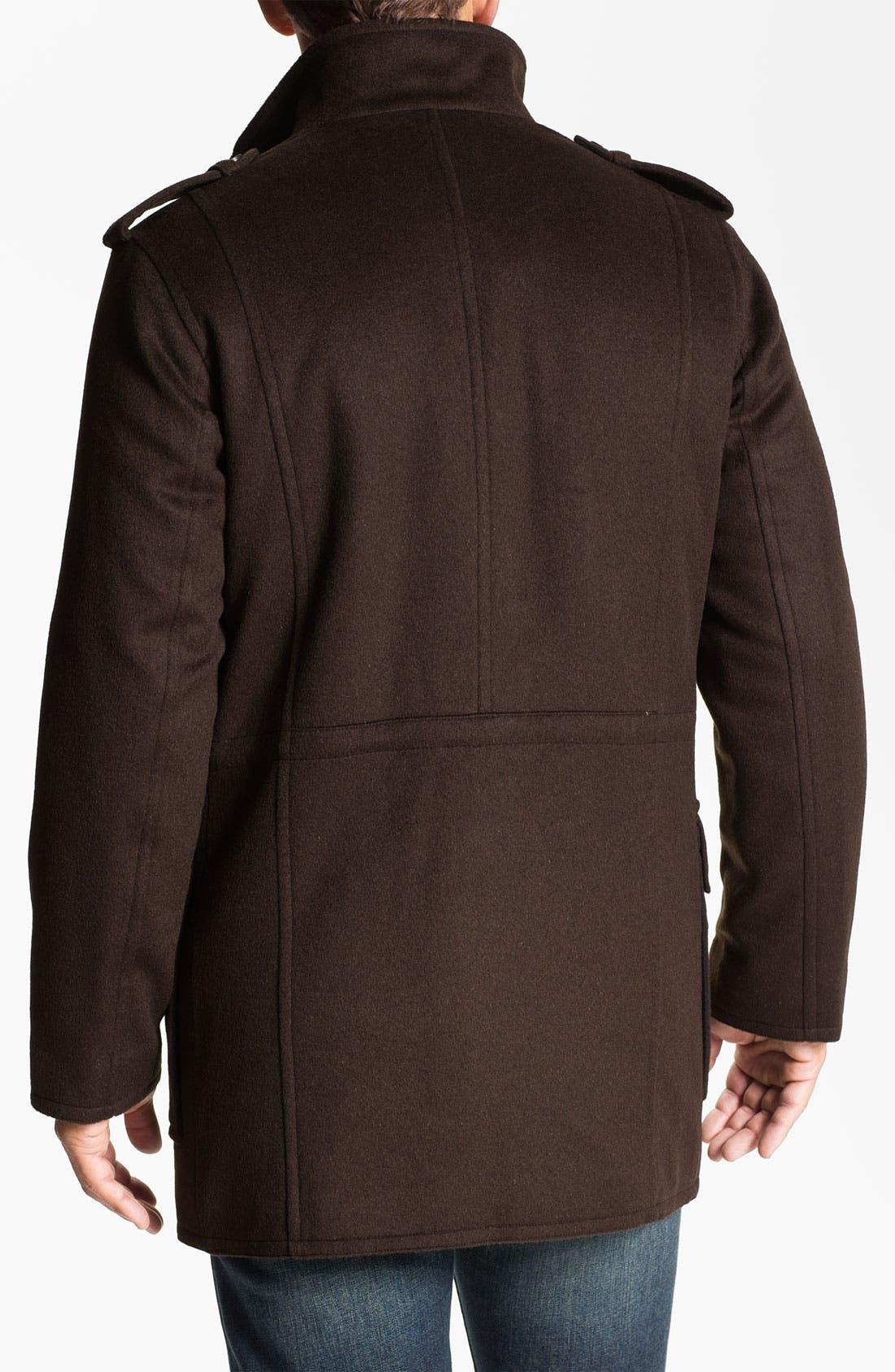 Alternate Image 2  - Hart Schaffner Marx Wool & Cashmere Jacket