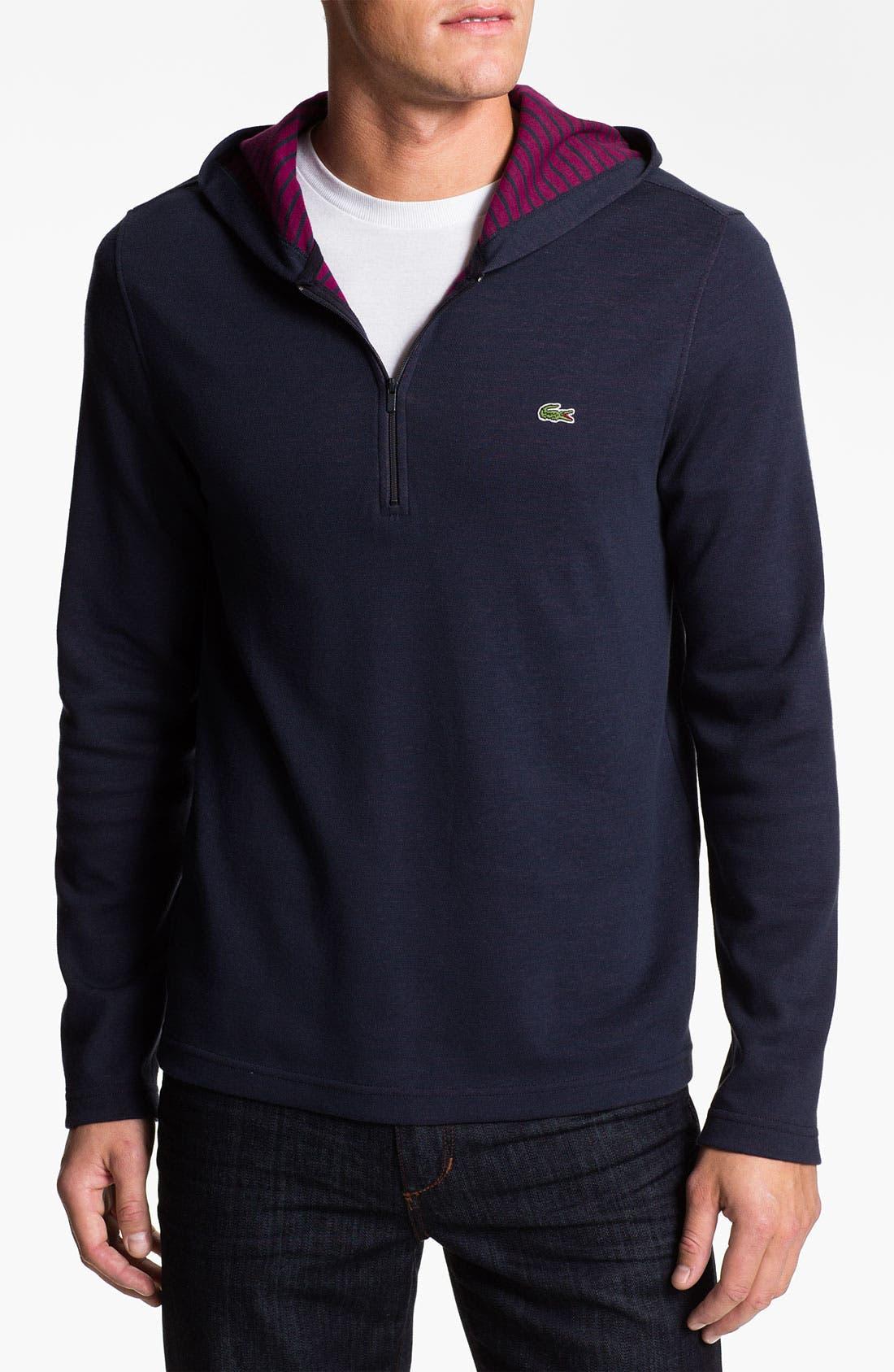 Alternate Image 1 Selected - Lacoste Slim Fit Zip Hoodie