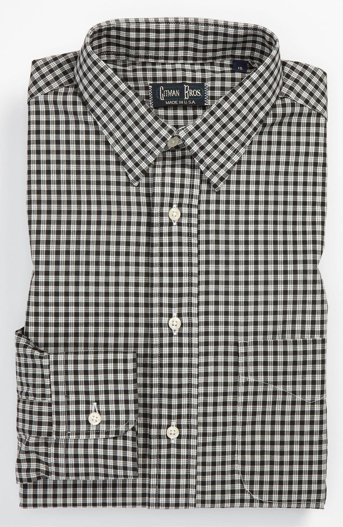 Main Image - Gitman Trim Fit Dress Shirt