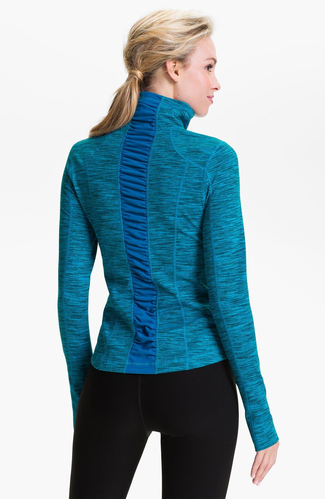 Alternate Image 1 Selected - Zella 'Sophia' Space Dye Jacket