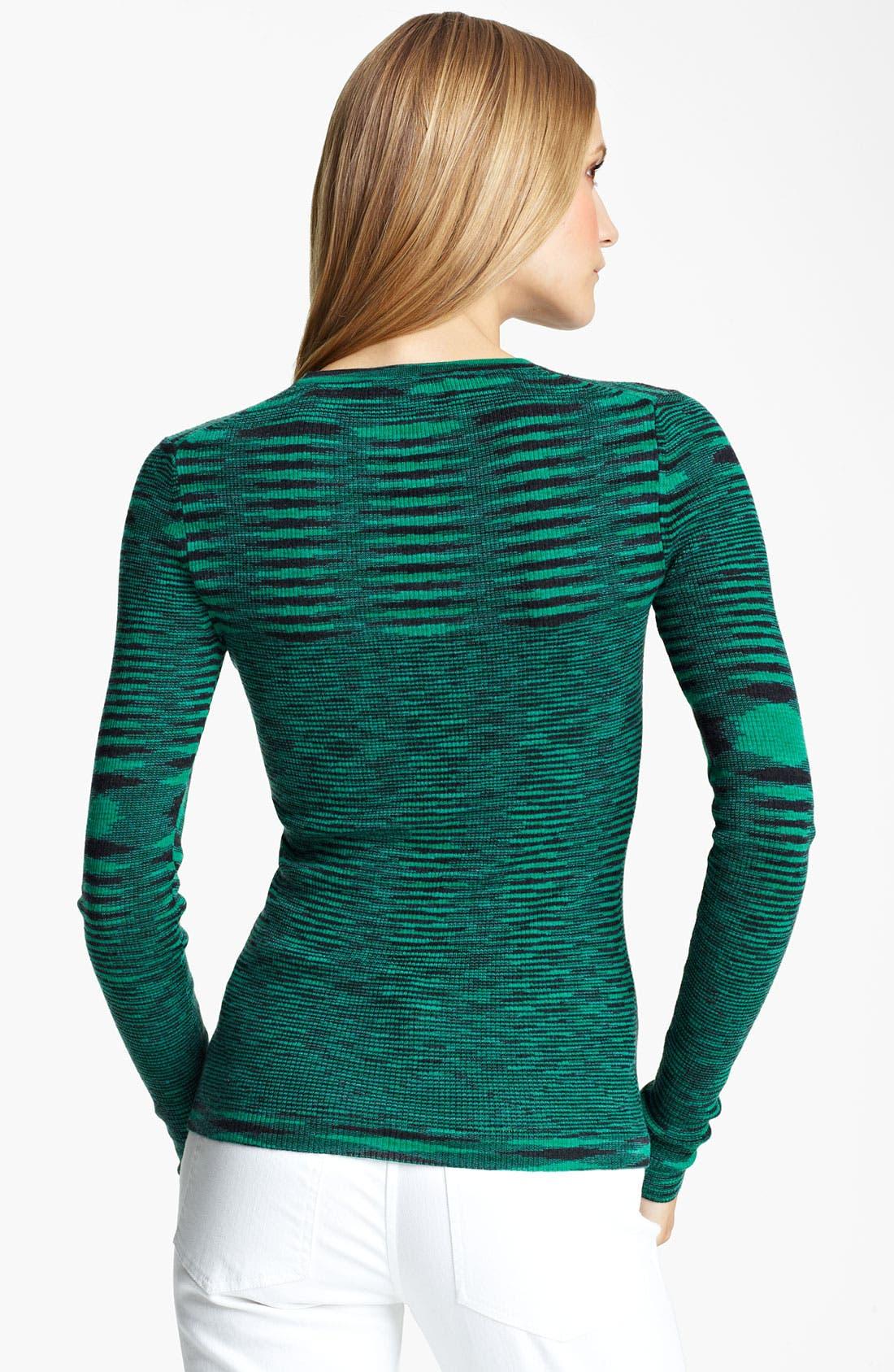 Alternate Image 2  - Michael Kors Space Dye Cashmere Sweater