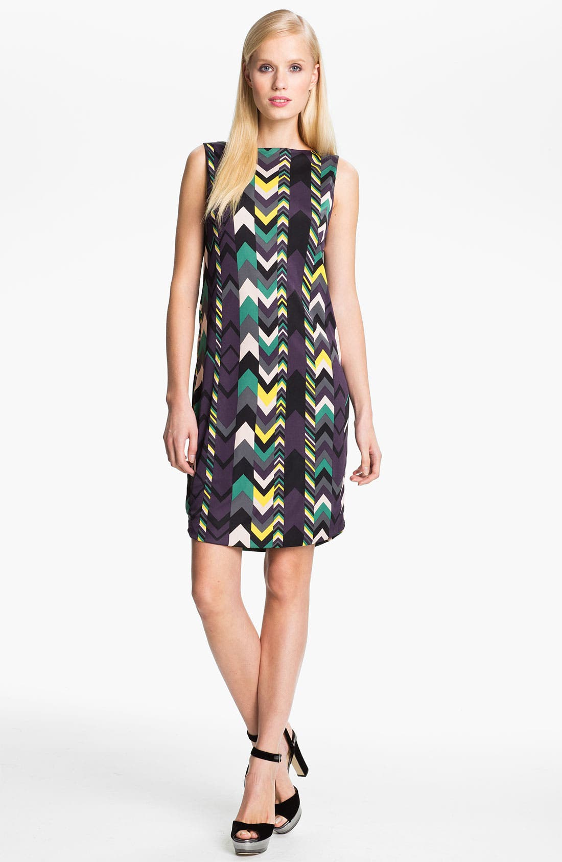 Alternate Image 1 Selected - M Missoni Zigzag Print Reversible Dress