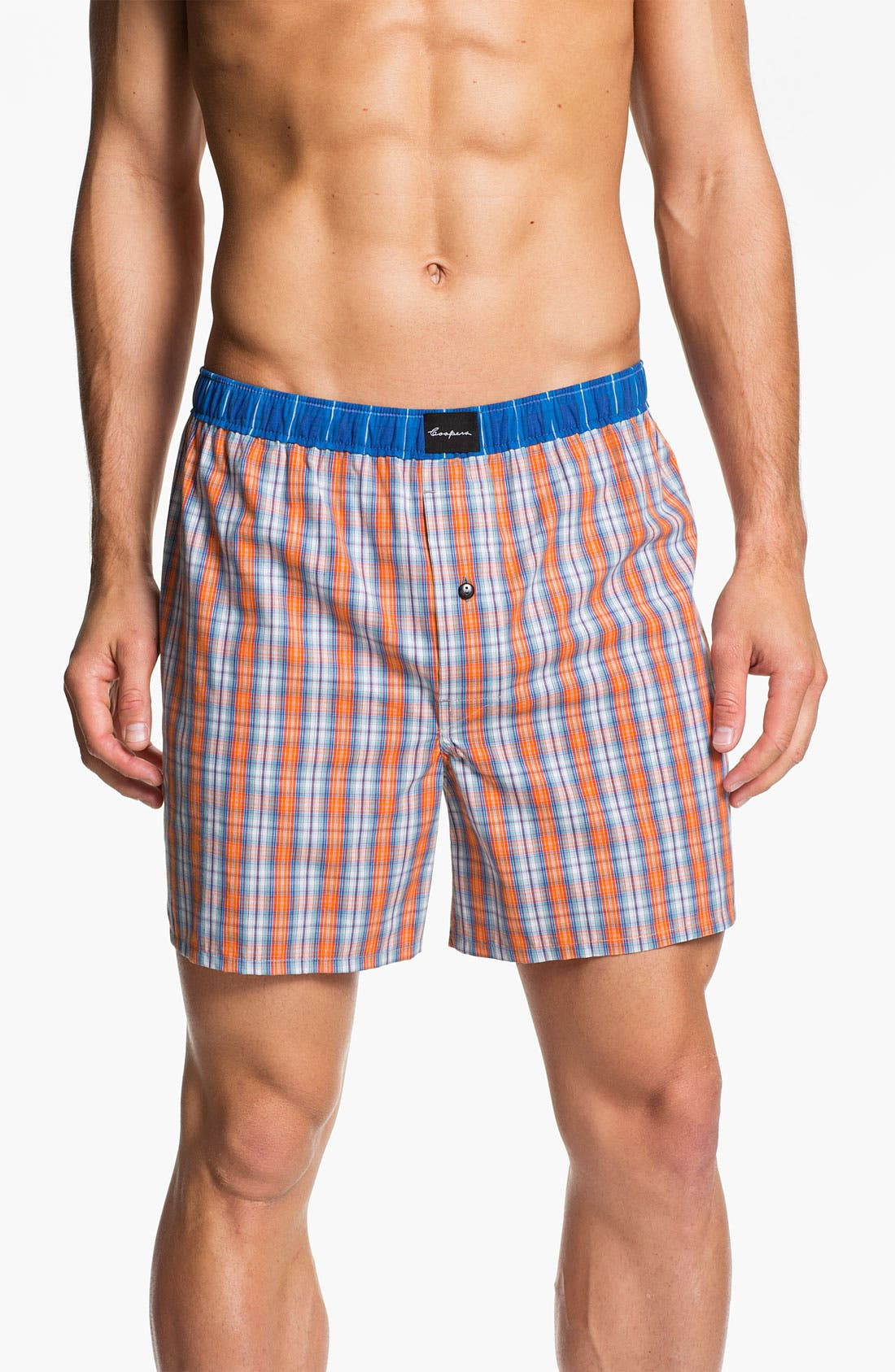 Main Image - Coopers by Jockey® Woven Boxer Shorts