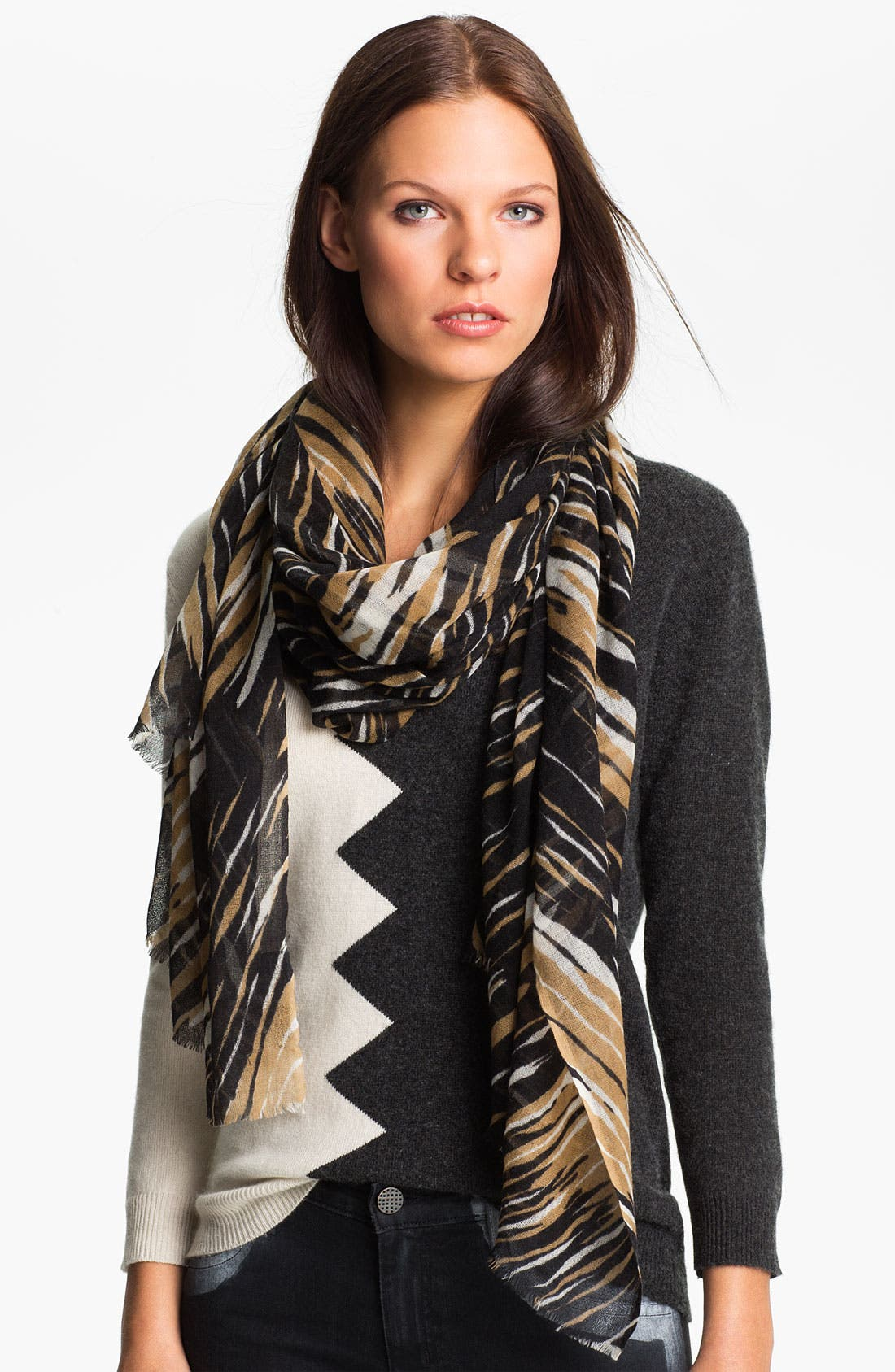 Alternate Image 1 Selected - Kelly Wearstler Claw Print Scarf
