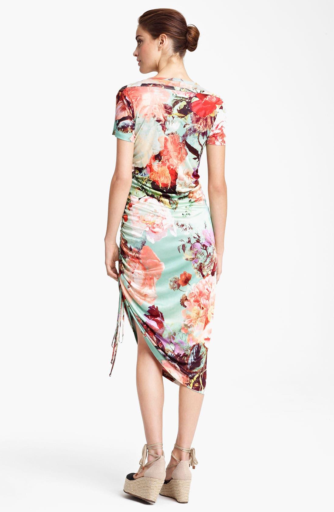 Alternate Image 2  - Jean Paul Gaultier Fuzzi Print Tulle & Jersey Dress
