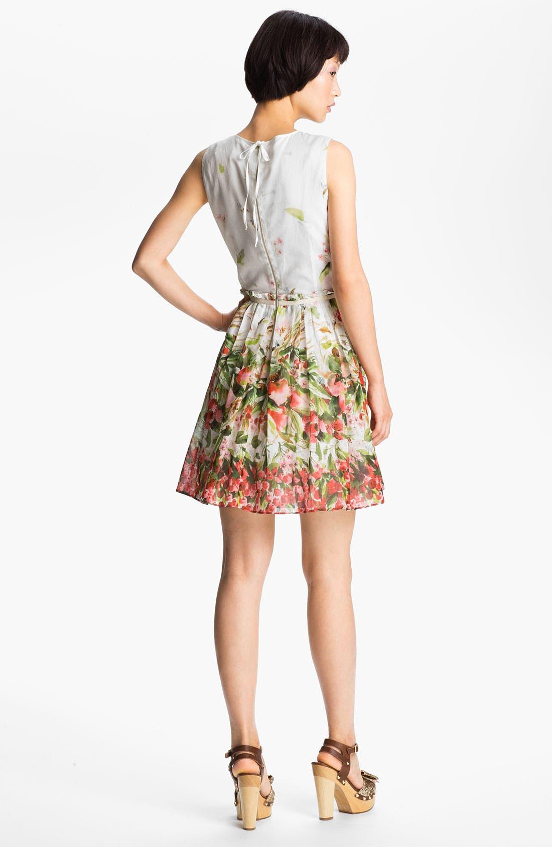 Alternate Image 2  - RED Valentino Strawberry Print Dress