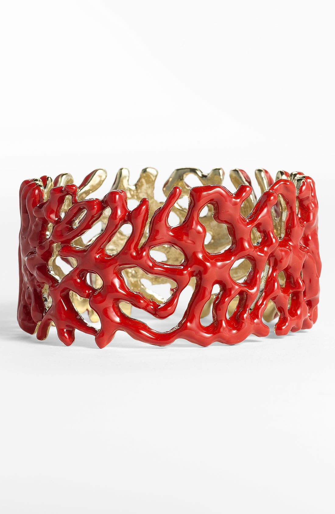 Alternate Image 1 Selected - St. John Collection 'Coral' Cuff Bracelet