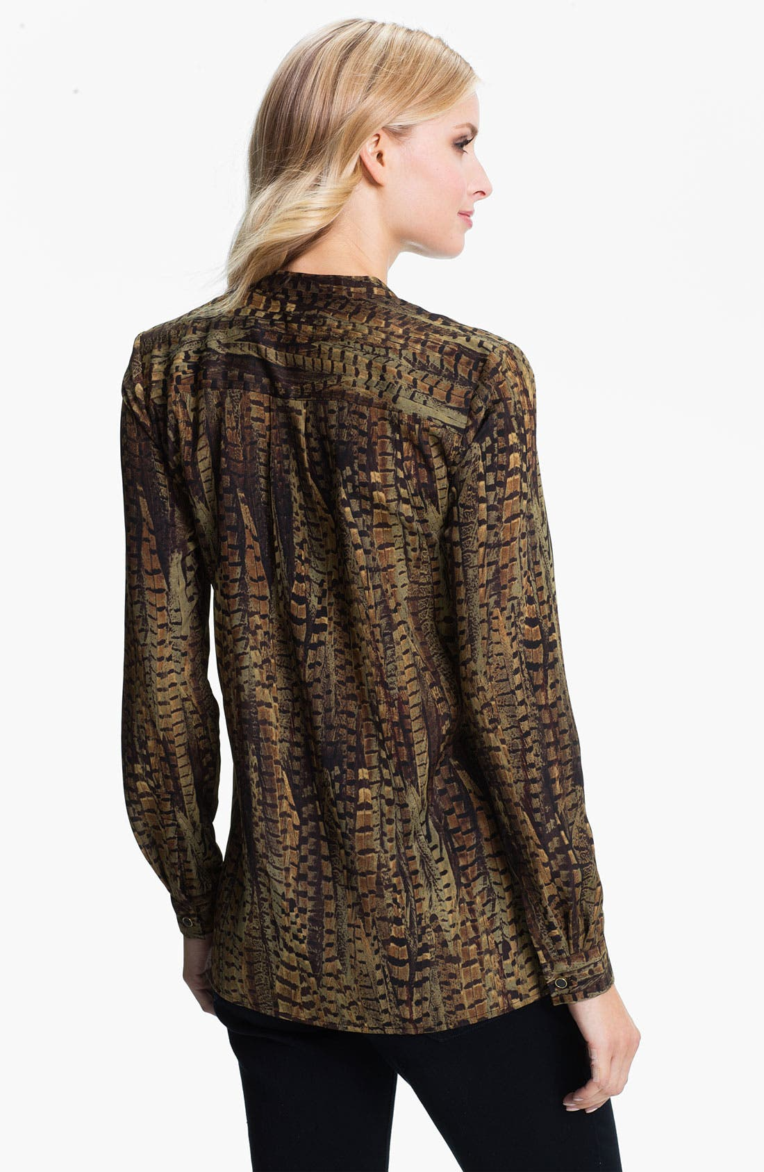 Alternate Image 2  - MICHAEL Michael Kors Oversize Pocket Shirt