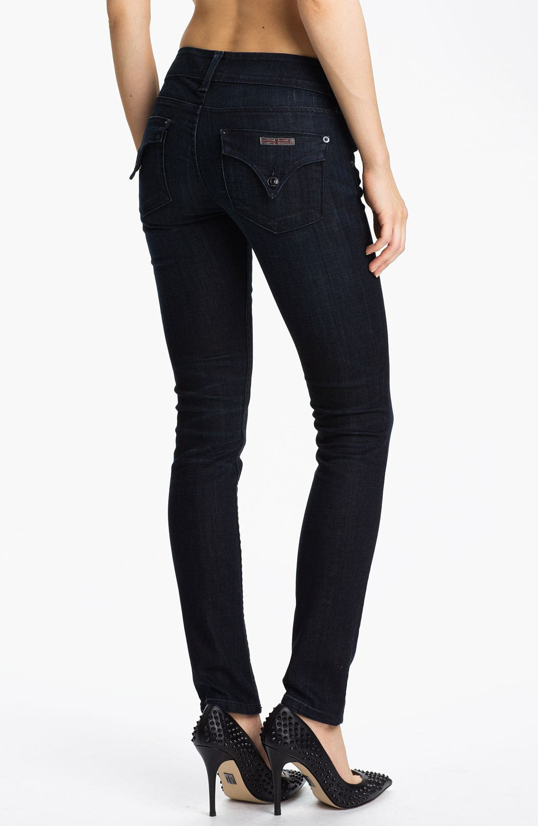 Alternate Image 2  - Hudson Jeans Skinny Stretch Jeans (Cale)