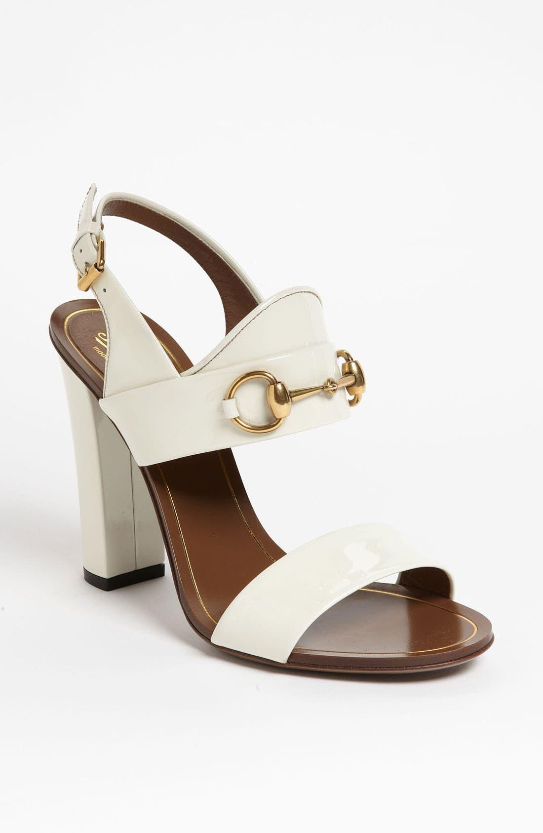 Alternate Image 1 Selected - Gucci 'Alyssa' Sandal