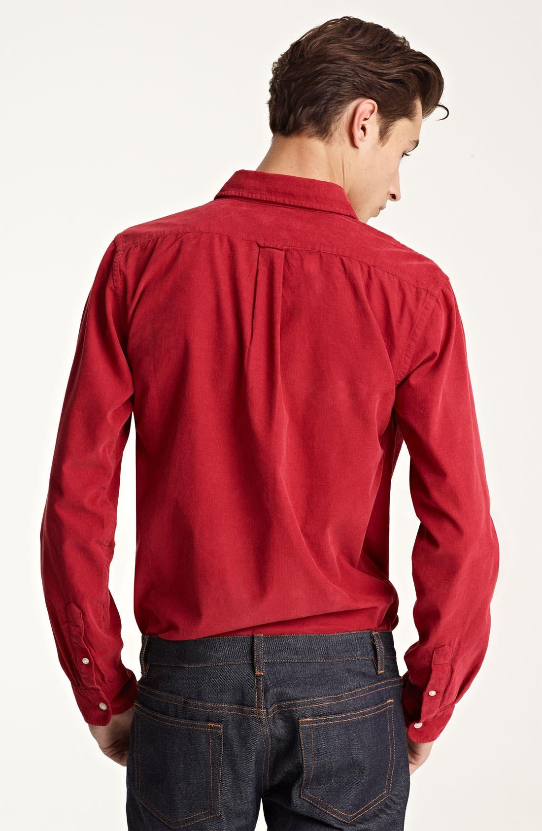 Alternate Image 3  - Grayers Corduroy Sport Shirt