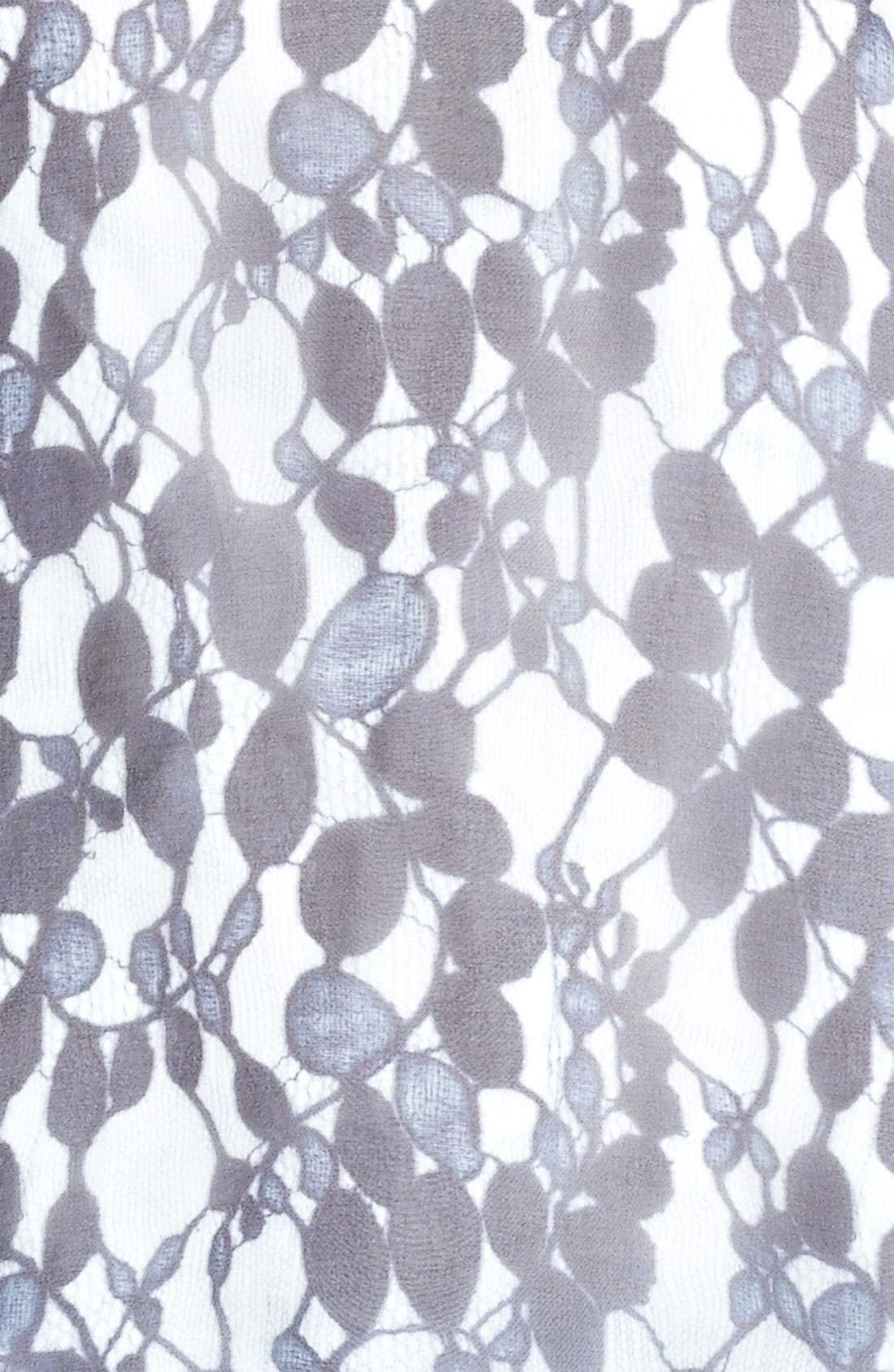 Alternate Image 3  - Erdem Trompe l'Oeil Silk Voile Blouse