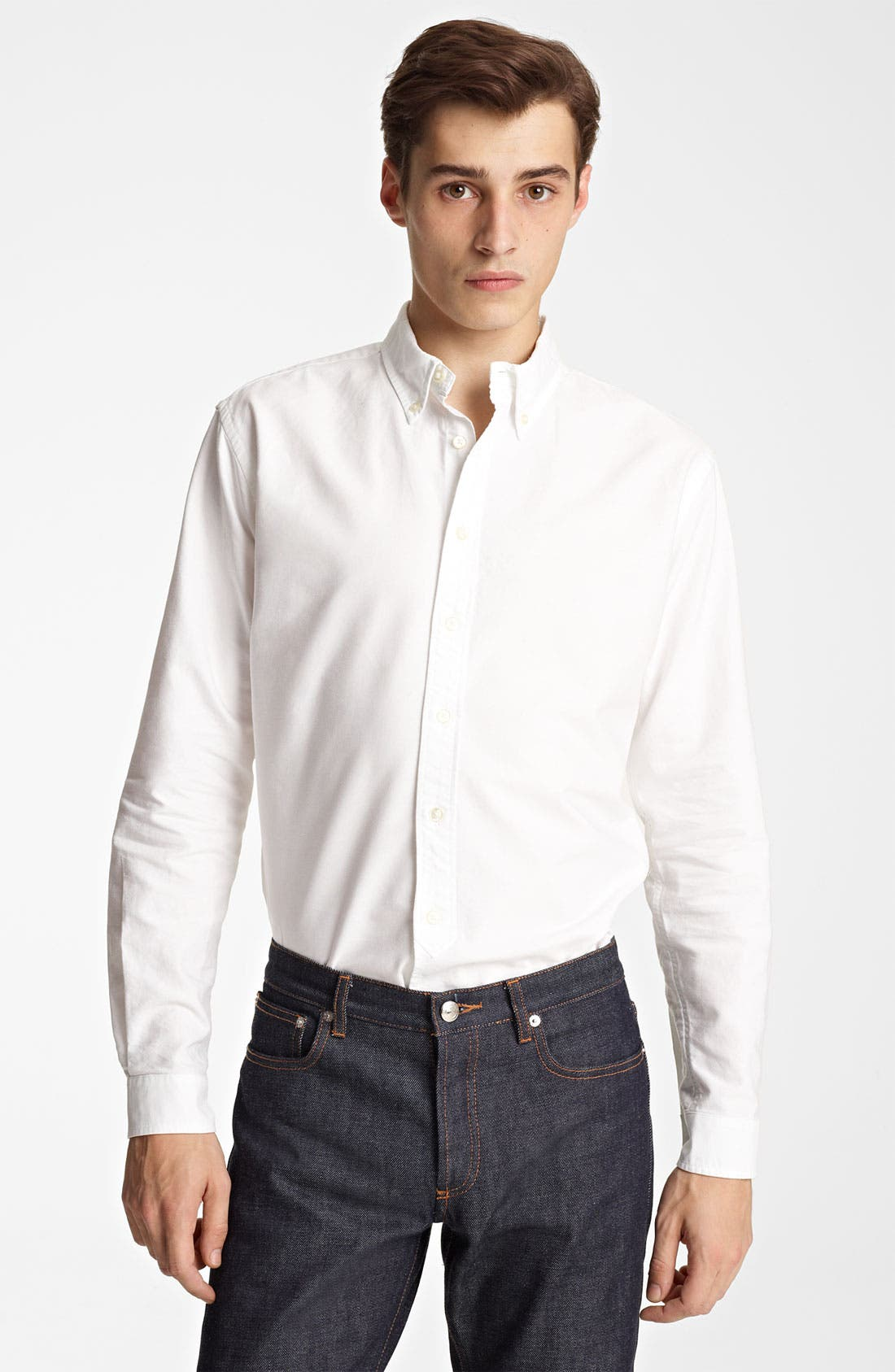 Alternate Image 1 Selected - Grayers Trim Fit Sport Shirt