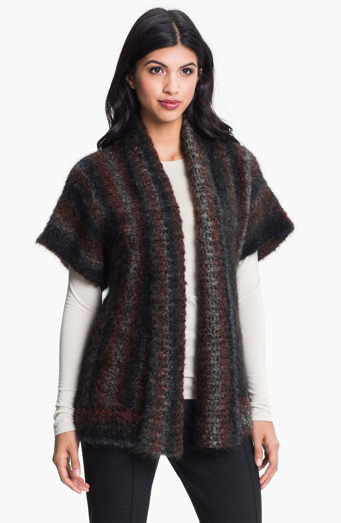 Alternate Image 1 Selected - Nordstrom Collection 'Bizet' Open Cardigan
