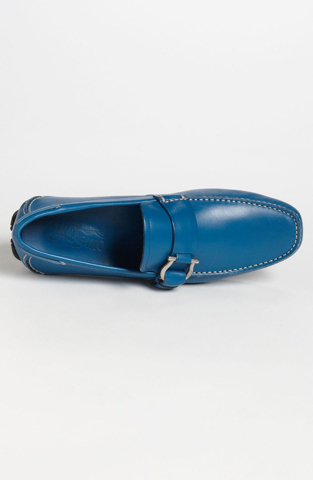 Alternate Image 3  - Salvatore Ferragamo 'Cabo 2' Driving Shoe