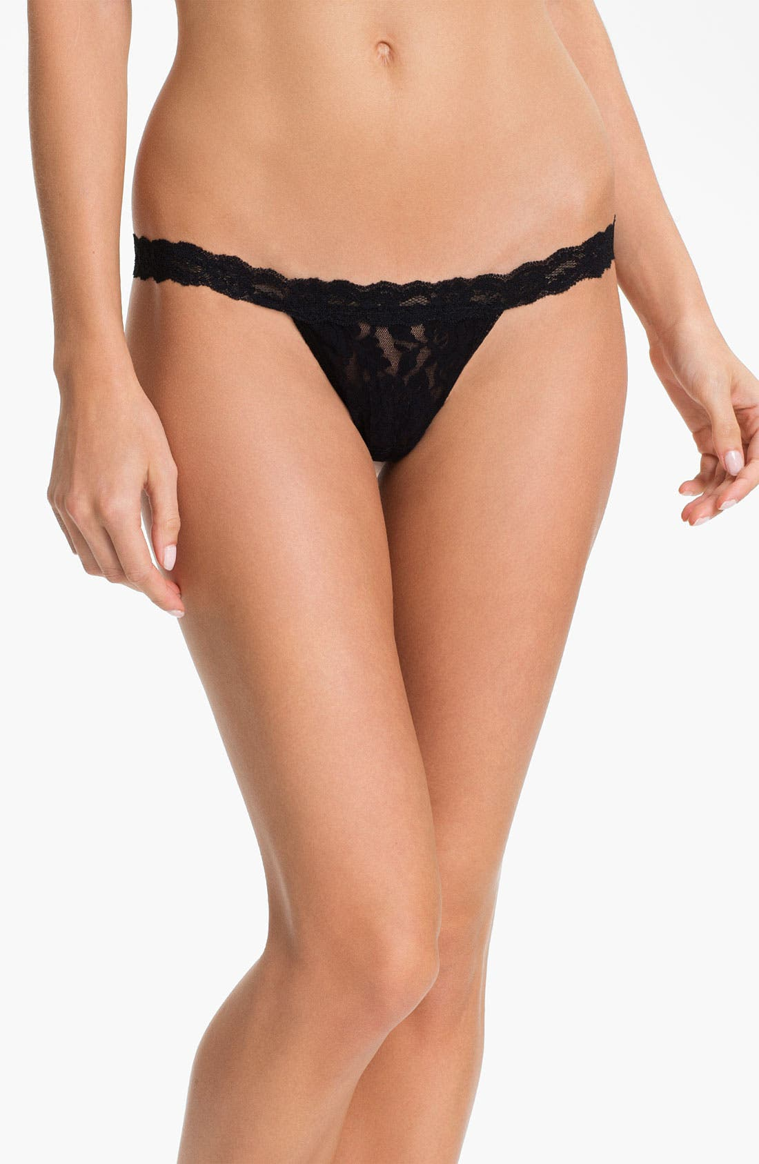 Alternate Image 1 Selected - Hanky Panky 'Signature Lace' Low Rise G-String