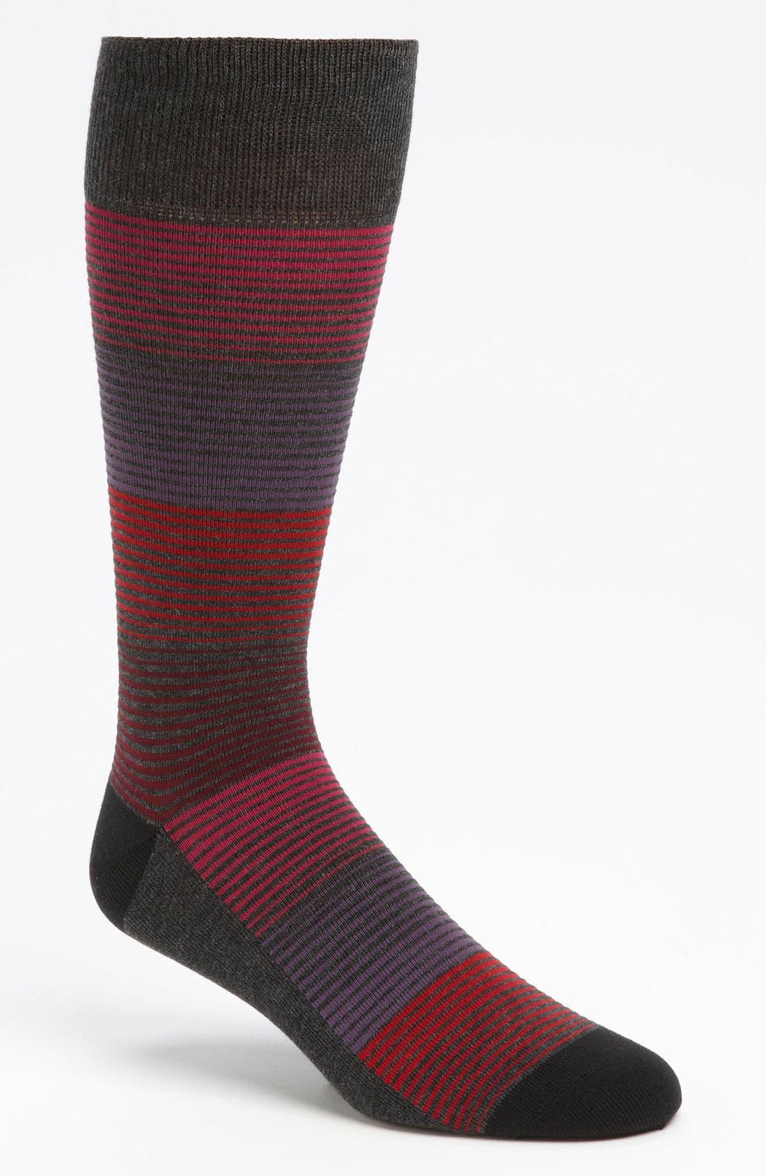 Alternate Image 1 Selected - Calibrate Stripe Socks