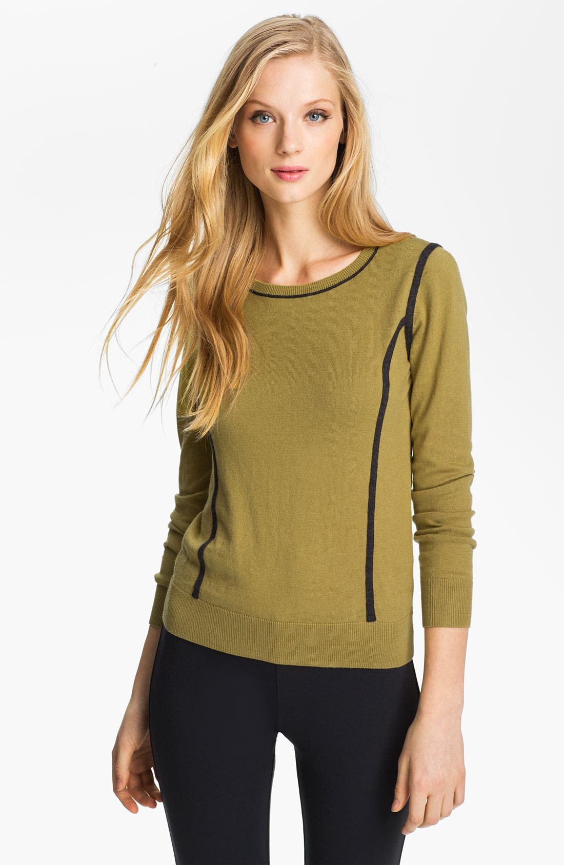 Alternate Image 1 Selected - Halogen® Intarsia Sweater