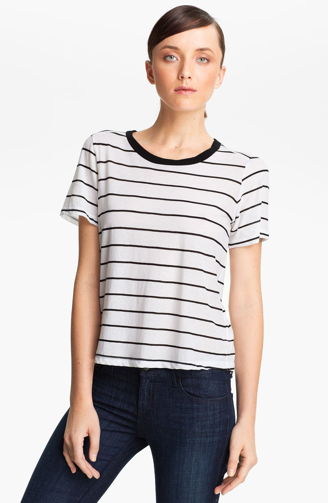 Alternate Image 1 Selected - A.L.C. 'Blaire' Stripe Tee