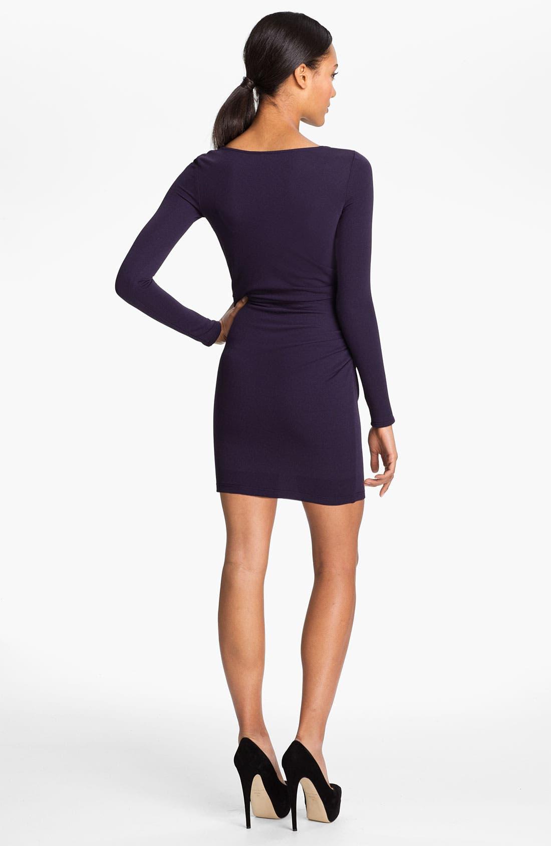 Alternate Image 2  - Halston Heritage Draped Crepe Jersey Dress