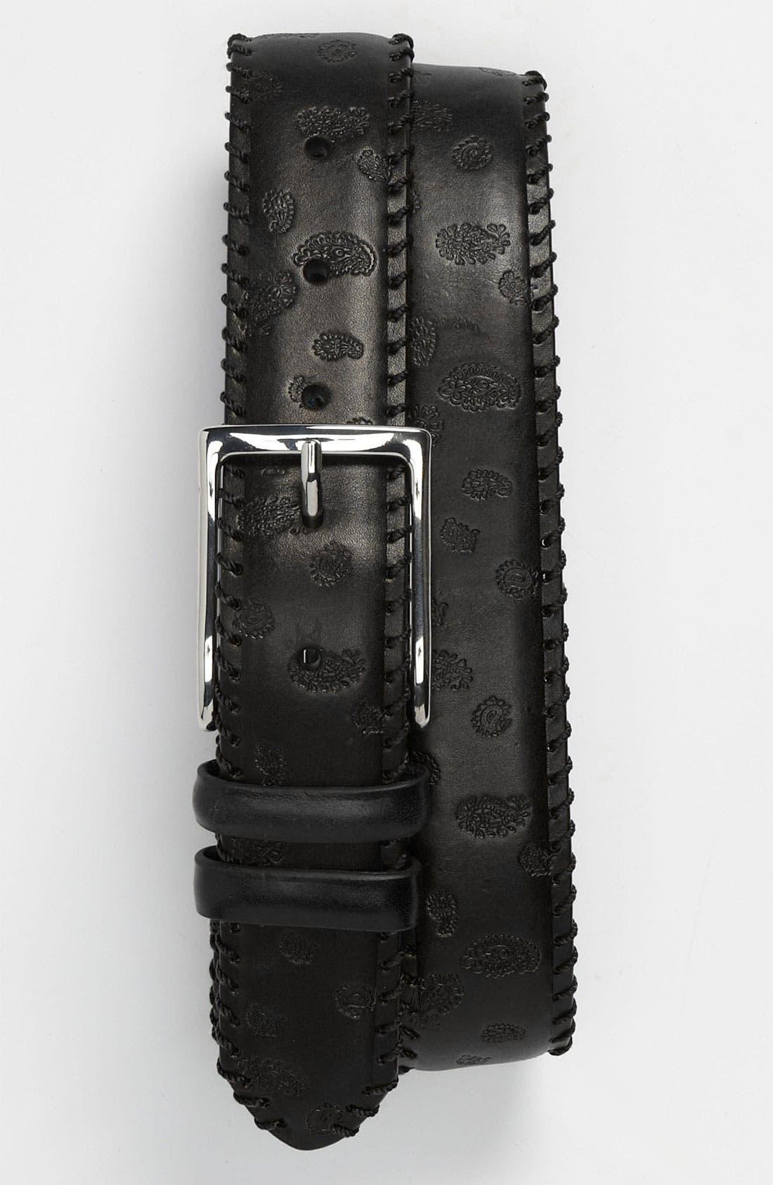 Alternate Image 1 Selected - Robert Graham 'Boccelli Nappa' Belt