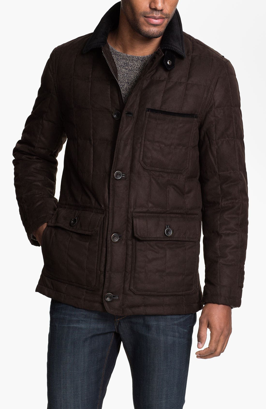 Main Image - RAINFOREST Quilted Down Jacket