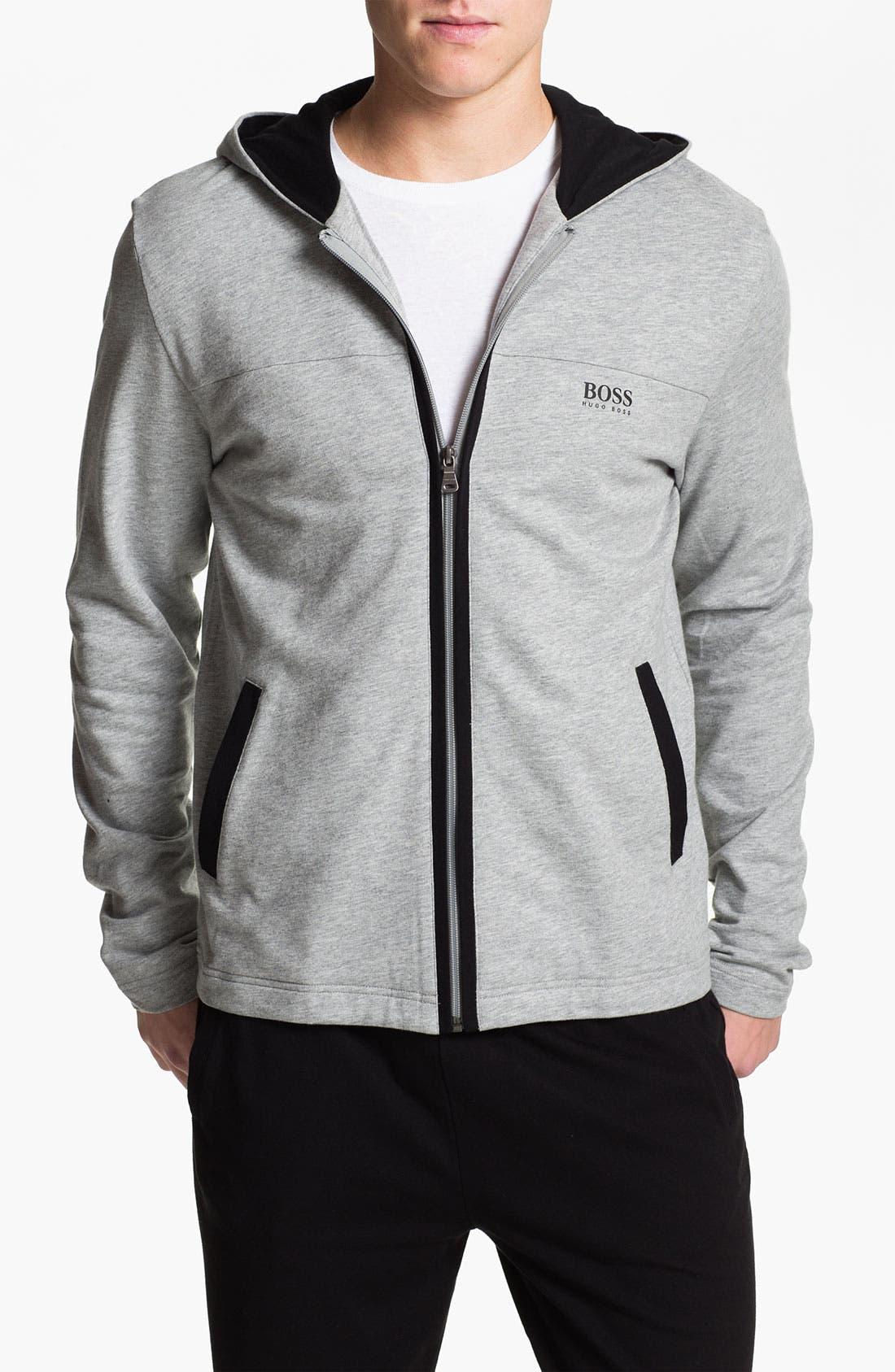 Main Image - BOSS Black 'Innovation 4' Zip Hoodie