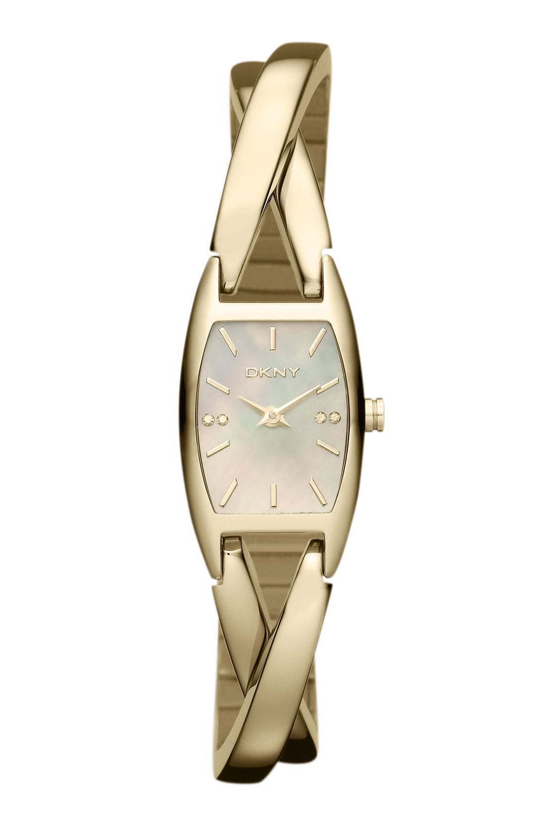 Alternate Image 1 Selected - DKNY 'Crosswalk' Bangle Watch, 18mm x 30mm