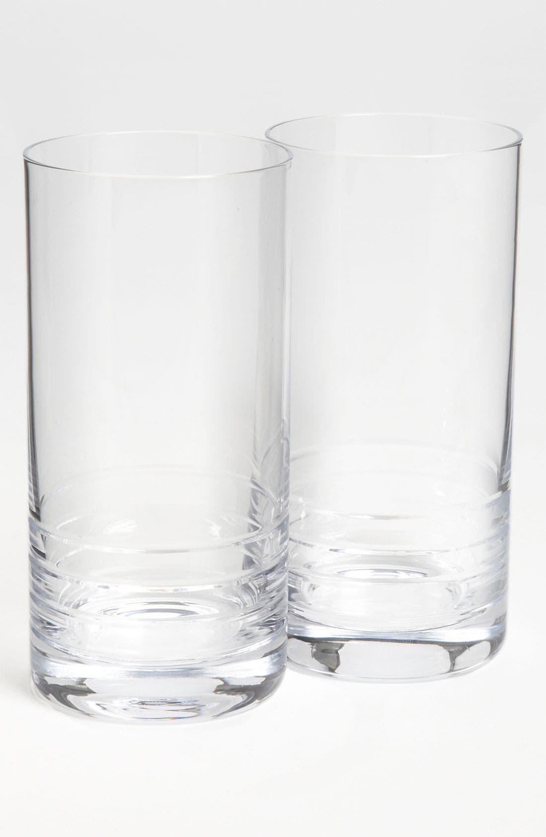 Main Image - kate spade new york 'percival place' highball glasses (Set of 2)