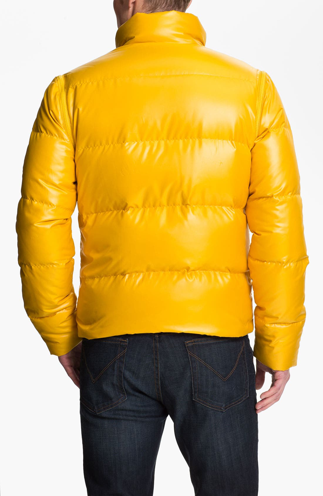 Alternate Image 2  - Brooks Brothers Convertible Down Jacket