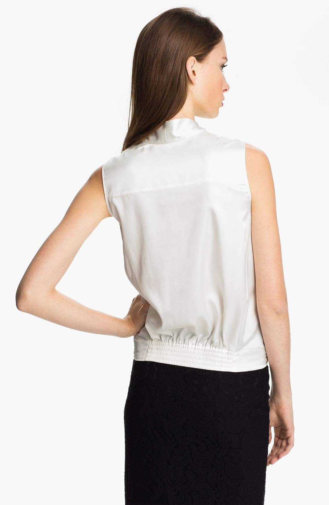 Alternate Image 2  - Vince Camuto Sleeveless Wrap Blouse