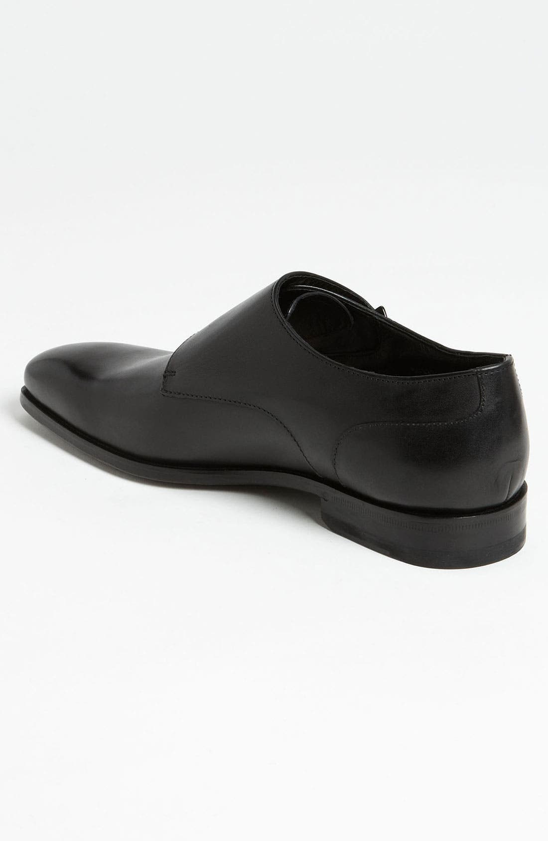 Alternate Image 2  - BOSS Black 'Copers' Double Monk Strap Slip-On