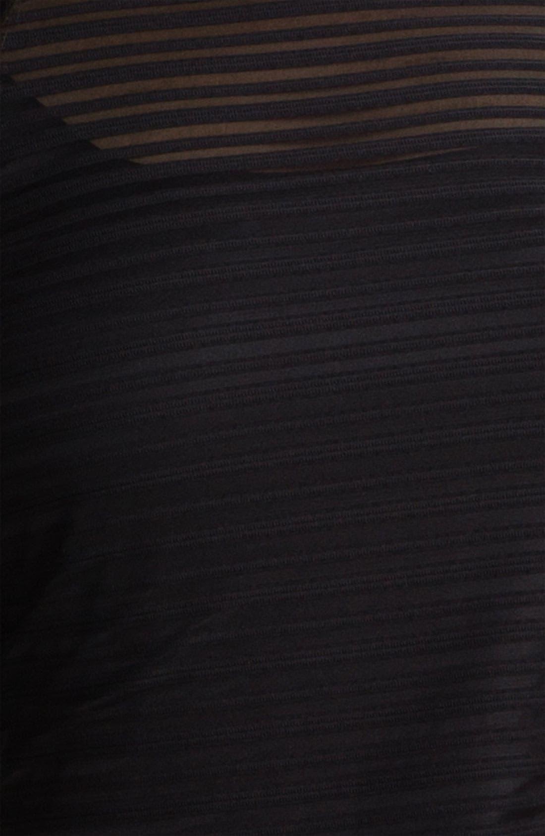 Alternate Image 3  - JS Collections Illusion Bodice & Satin Dress (Plus)