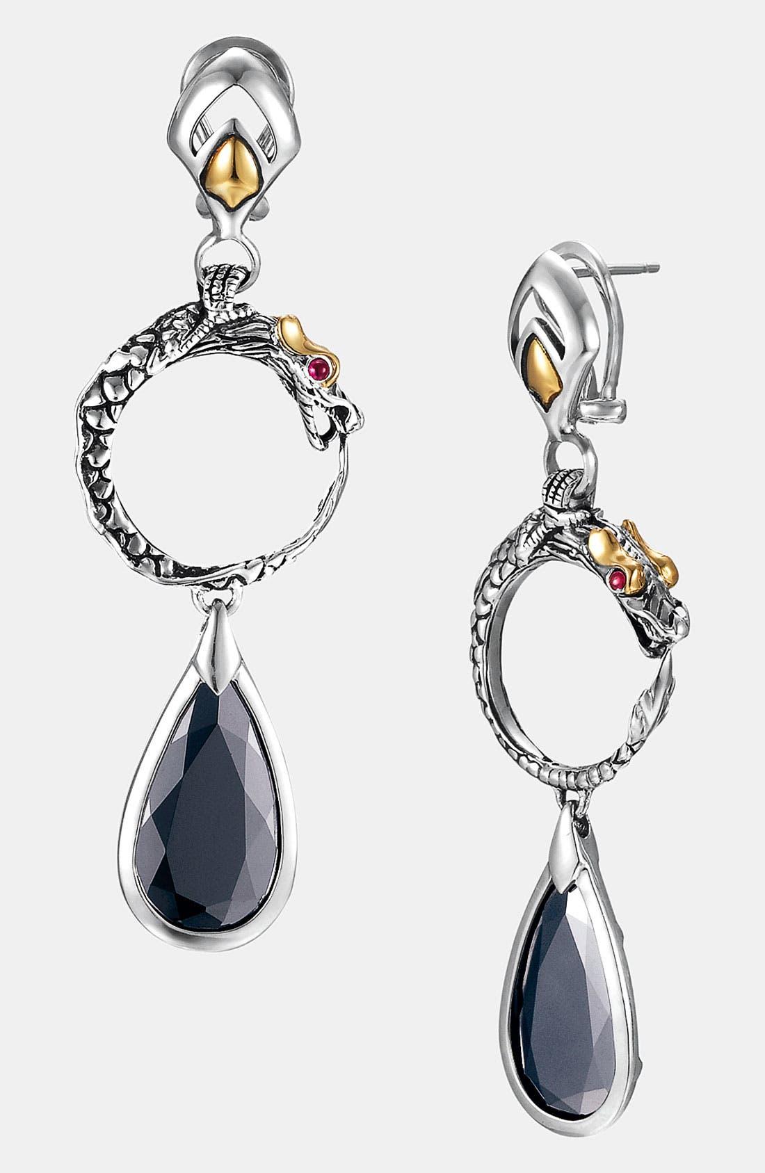 Alternate Image 1 Selected - John Hardy 'Batu Naga' Drop Earrings