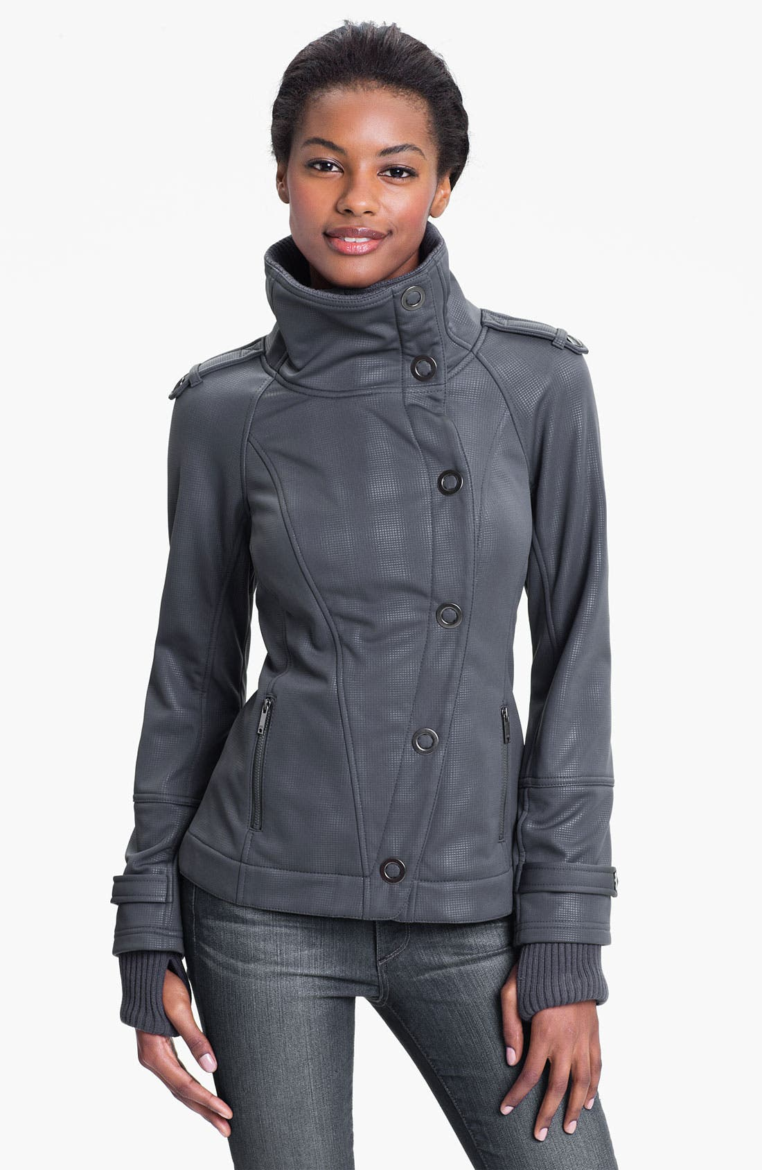 Alternate Image 1 Selected - Zella Soft Shell Jacket